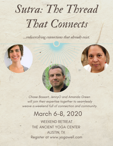 Sutra_ The Thread That Connects Retreat Flyer